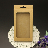 Blank Kraft Paper Mobile Phone Case Packaging for iPhone 6 4.7inch Neutral Package Box