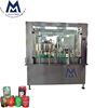 Ultra Precise Control Soft Drink Aluminum Can Tin Can Filling Sealing Machine / Hot Juice Filling Equipment Line