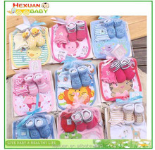 newborn baby gift set for baby socks baby gloves,baby bibs