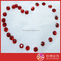 Wholesale Machine Cut as for 888 chaton flat Back Red Crystal Rhinestone Chaton