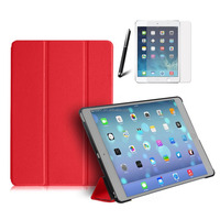 Smart Cover Case with Good quality pu leather Case Sleep Function Official Color for iPad pro