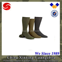 Breathable knee high sports sock nylon & cotton & polyester with custom logo sale