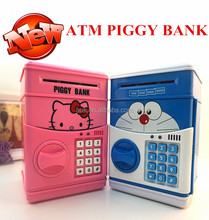 Promotional Safe Money Box Toy ATM Piggy Bank coin bank FOR Kids