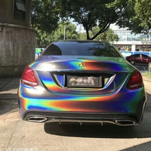 Laser Color Tint Films For Car Cars Exterior Vinyl Wrap Vehicle Color Changing Film