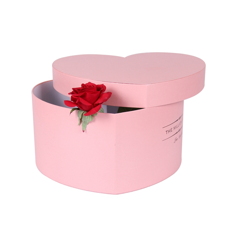 Handmade elegant waterproof paper cardboard boxes for flowers