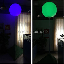 Different Color 25inch Inflatable Tripod Balloon and Inflatable LED lighting Ballon from Factory