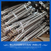 1meter long with NPT male niple corrugated braided stainless steel flexible gas hoses