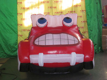 Advertising inflatable car
