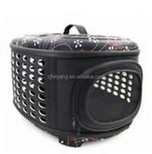 Wholesale Breathable soft airline approved pet bag, traveling cat dog carrier fold big size bag