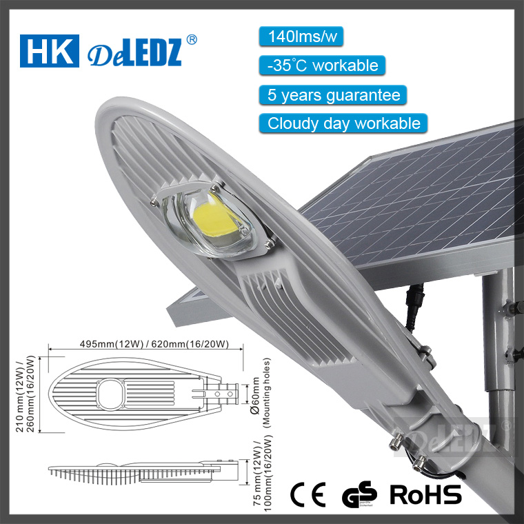 2017 years new lamp competitive price smart solar battery powered led modules for street light