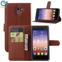 OEM/ODM leather wallet case with card holder leather case Huawei honor 5X/ HUAWEI GR5