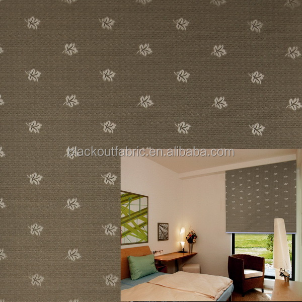 100% Polyester Japanese style Blackout Curtain fabric with waterproof