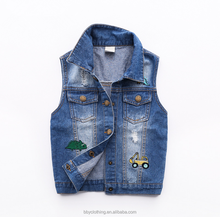 New model kids boy clothing autumn fashion boy waistcoat for 3-7 years