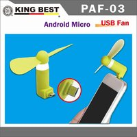 KING BEST Portable OTG Micro USB Mini Phone Fan For IOS Android Smart phone Accessories cellphone mini fan