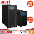 high frequency pure sine wave power factor 0.8 online UPS 6-10kva