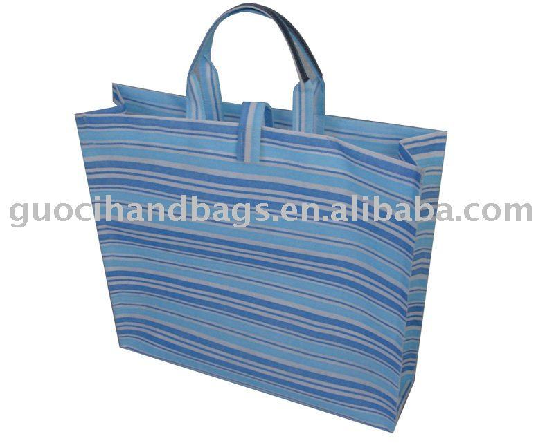 promotional non-woven casual handled shopping bag
