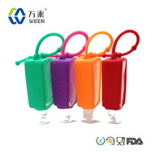 Animal-shaped Durable Silicone Hand Sanitizer Holder, Silicone Hand Sanitizer Sleeves, Silicone Hand Sanitizer Covers