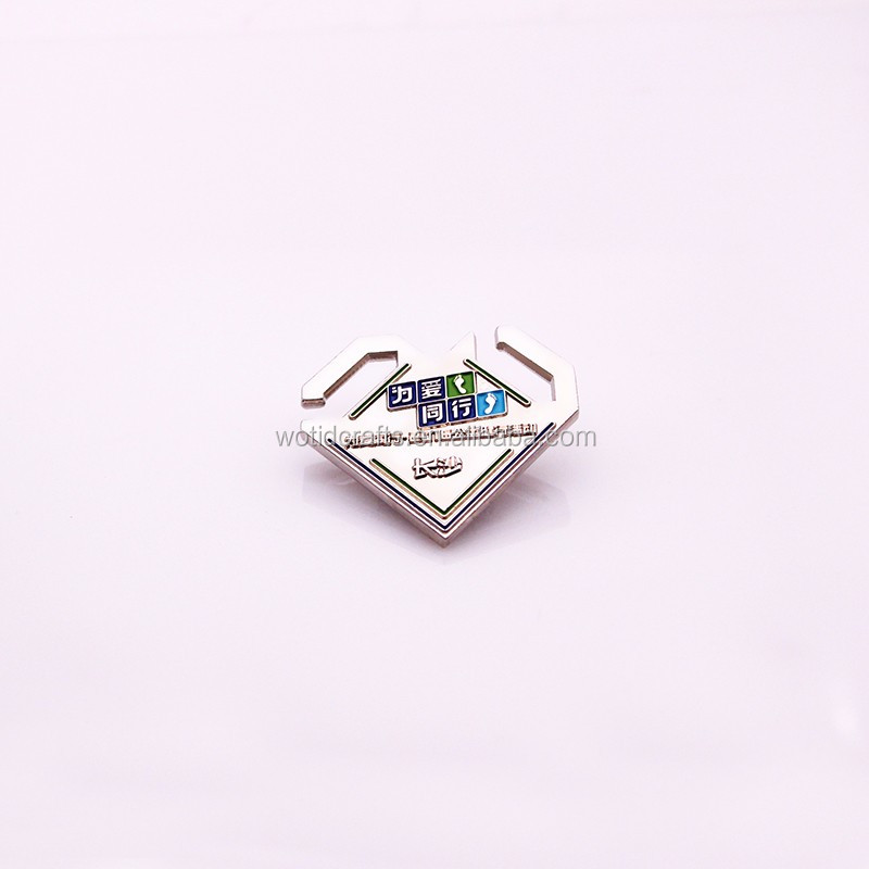 2017 Walk For Love events souvenir metal pin badges making WP010