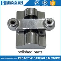 High temperature resistance stainless steel lost wax polished part casting