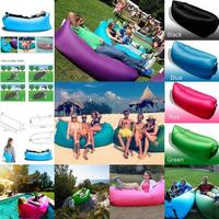 Portable Waterproof Outdoor Lazy Bag Air Sleep Beach Camping Furniture Hangout Lounger Lamzac Inflatable Sofa Folding Chair