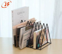 Triangular-iron newspaper magazine rack home decoration