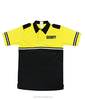 Two Tone Bike Patrol Polo Shirt with Security ID and Reflective Stripes
