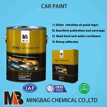 Factory supply car paint 2k colors topcoat mixing system