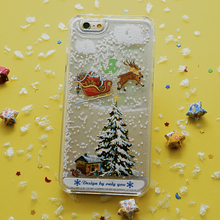3D Sublimation Cell Phone Case Cover for iPhone 5/6/6 Plus and Samsung Note3/Note4/S6/S6 edge Christmas Case