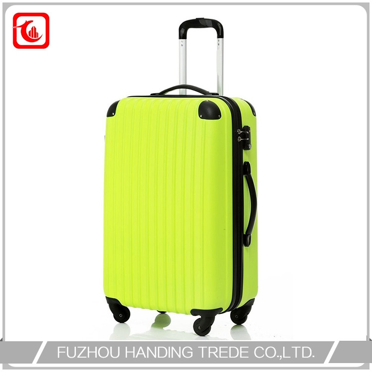 cheap 4 wheel lightweight hard suitcase , online sale luggage with wheel