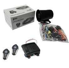 Auto One Way Car Alarm for Security System with Button Start