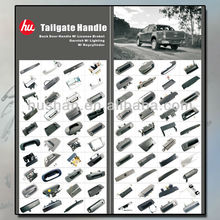 Auto Parts Moulded inside outside Car Tailgate Handle manufacturers