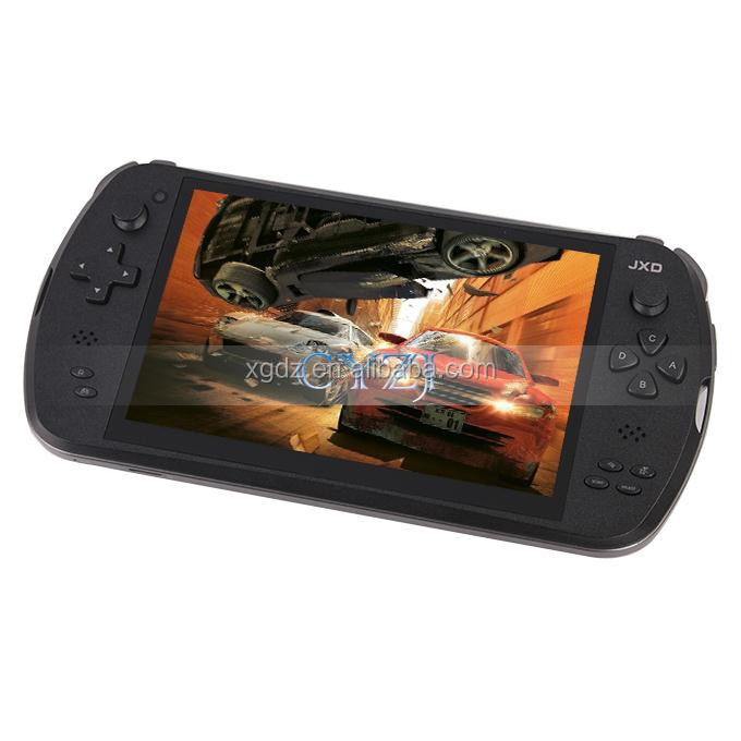 "S7800B 7"" Quad Core Game Console Player tablet pc JXD S7800B S7800 gamepad Android 4.4.4 2G RAM 16GB 1280X800 IPS Dual Came"