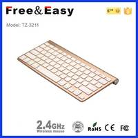 China support partable bluetooth mini keyboard and mouse combo
