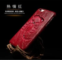 3D Scorpion PU Leather Skin Phone Case For Apple iPhone 6s