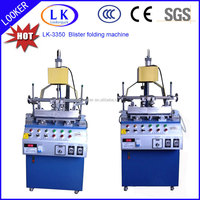 Automatic Plastic Blister Folding Machine, Three Edge Blister Folding Machine, China Leading Manufacturer