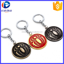 Marvel hero 3 Color Keychain The Avengers SPIDER-MAN Keyrings Wholesale
