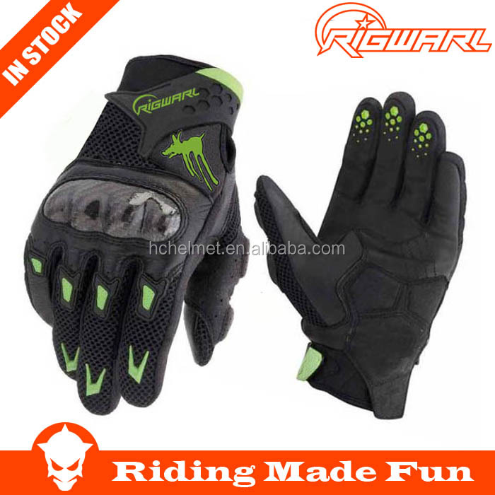Rigwarl Custom Fashion street rider superior comfort and performance M10 gloves motorcycle