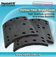 VL88 brake lining for Volvo FM12 R 19939 F19938