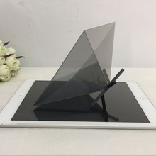 high quality 3D Hologram Projector Pyramid for inch Tablet PC and smartphone Hatsune 3D MV Projector