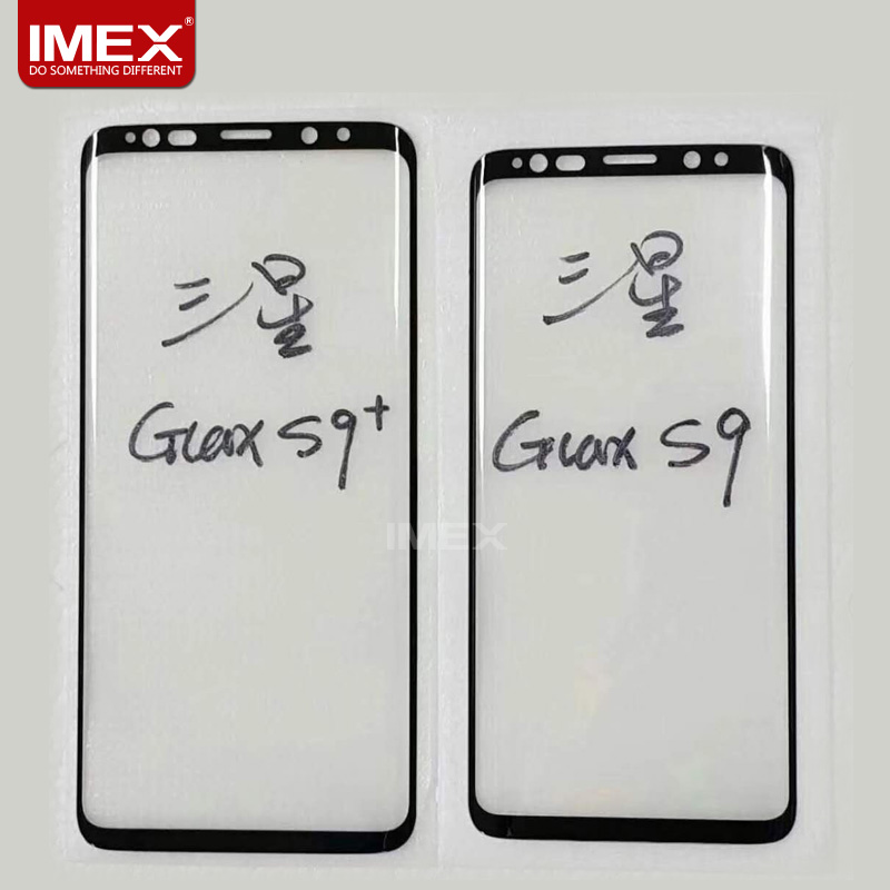 New 9H hardness 0.33mm Anti scratch 3D full cover tempered glass screen protector for Samsung galaxy S9 Plus