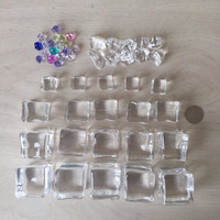Crystal Clear Fake Acrylic Ice Cube