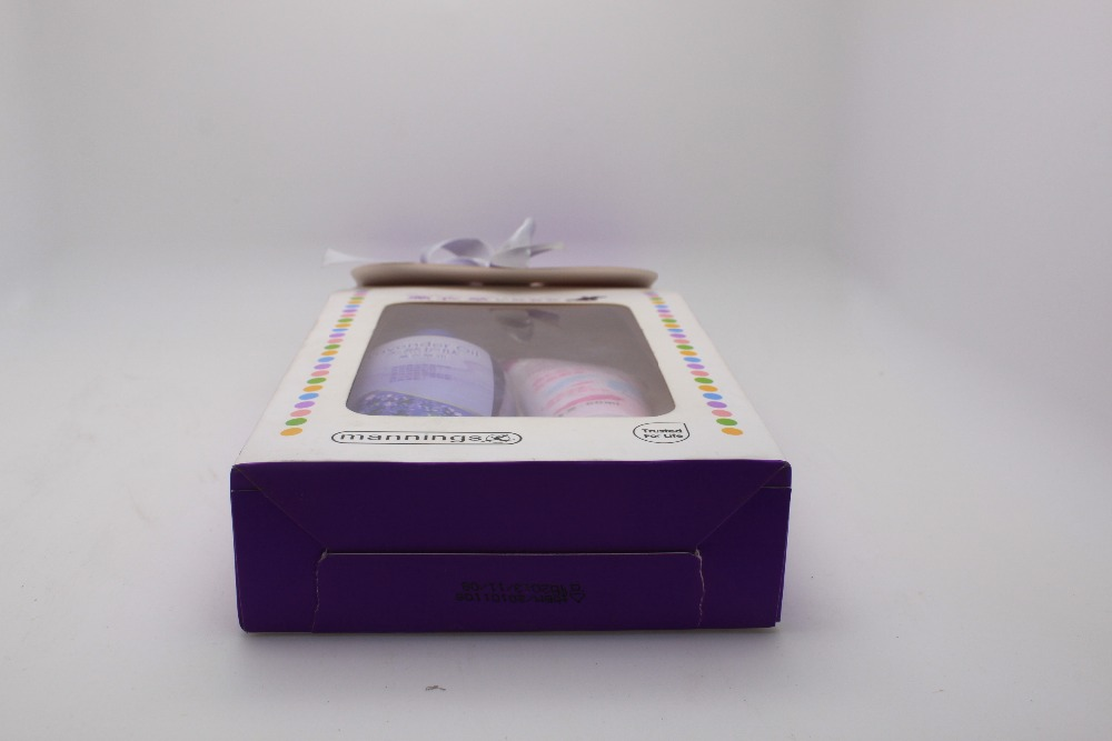 2pk scented bath gift set with show gel and hand sanitizer