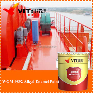 VIT Good weatherability various alkyd enamel paint for metal / enamel paint prices / nano ceramic coating