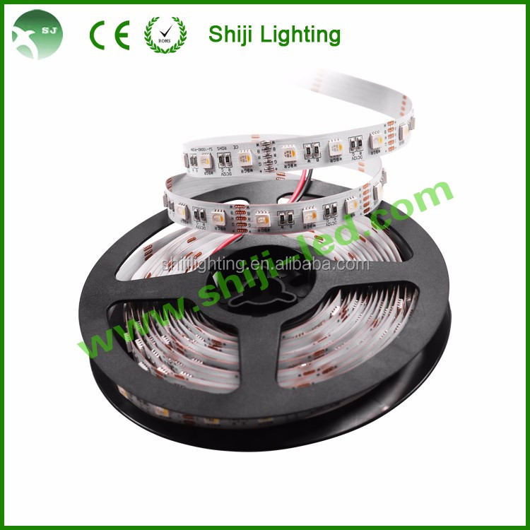 Festival carnival 5050 RGBW 60 pixels dc5v SK6812 magic RGBW flexible led strip