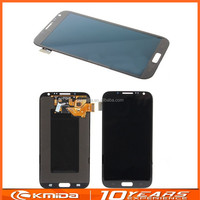 One Year Warranty lcd display touch screen for samsung galaxy note 2 lcd with frame N7100