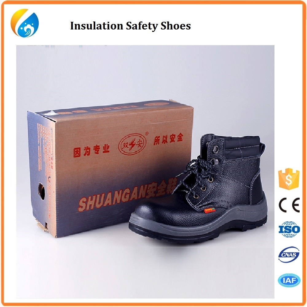 Metal Free Leather Upper Composite Toecap Safety Shoes CE S3 - Safety Jogger