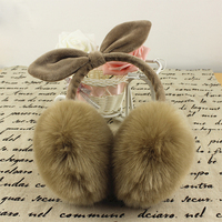 Top Quality New design fashion ear muffs with fake fur