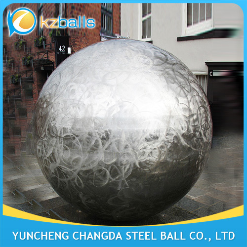 large metal sphere artcrafts 1200mm steel hollow balls