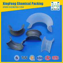 Plastic Intalox Saddle Ring/Plastic Tower Packing For Petroleum Industry