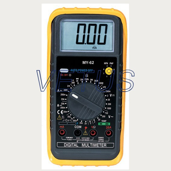 MY-62 new type of digital professional multimeter